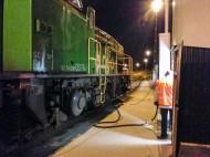 Tankning av diesel