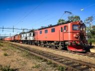 Transporttåget i Gällivare