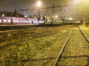 Absolut sista tåget över