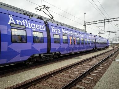 Invigningståget X61059
