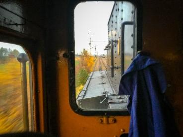 Backgång och möte med öresundståget