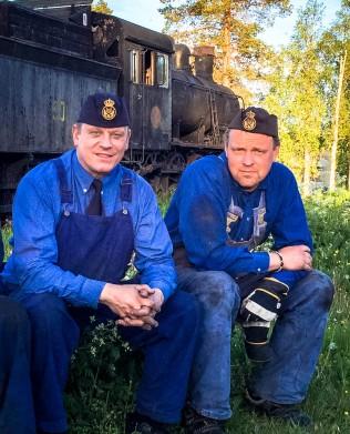 Per-Åke och Martin